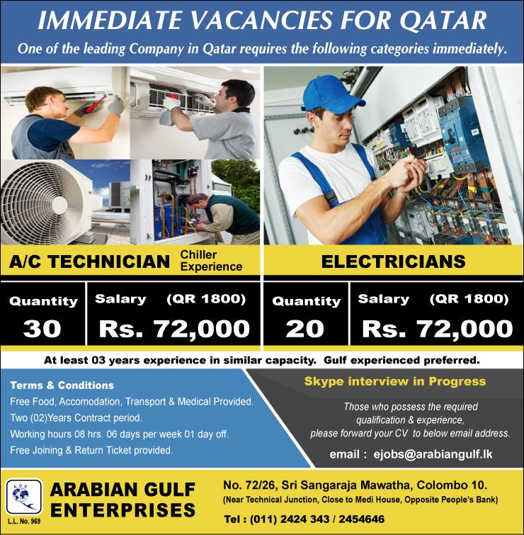 A/C Technicians / Electricians